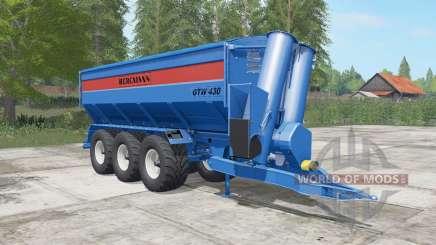 Bergmann GTW 430 lochmara for Farming Simulator 2017