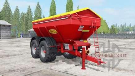 Bredal K165 narrow wheels for Farming Simulator 2017