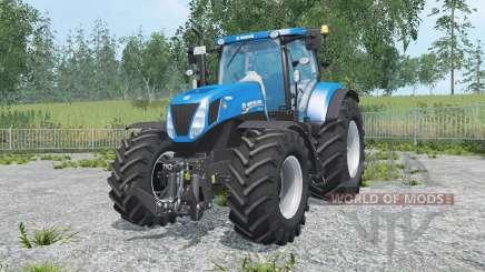 New Holland T7.270 spanish sky blue for Farming Simulator 2015