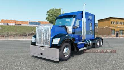 Kenworth W990 Mid-Roof Aerodyne Sleeper for Euro Truck Simulator 2
