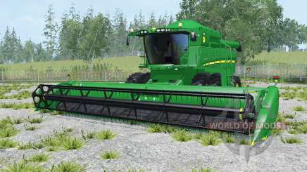 John Deere S550 north texas green for Farming Simulator 2015