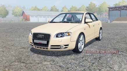 Audi A4 3.0 TDI quattro (B7) 2004 for Farming Simulator 2013
