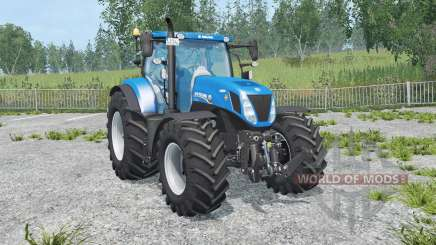 New Holland T7.270 new mirrors for Farming Simulator 2015