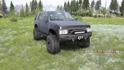 Nissan Pathfinder 4-door (WD21) for MudRunner