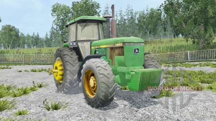 John Deere 4650 extra weights for Farming Simulator 2015