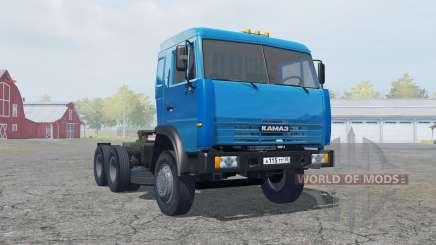 KamAZ-54115 blue color for Farming Simulator 2013