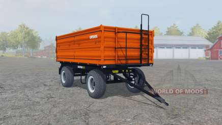 Ursus T-670-A1 vivid orange for Farming Simulator 2013