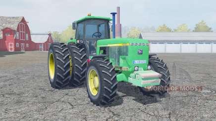 John Deere 4955 medium spring green for Farming Simulator 2013