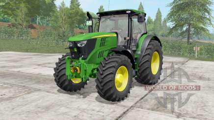 John Deere 6175R-6215R for Farming Simulator 2017