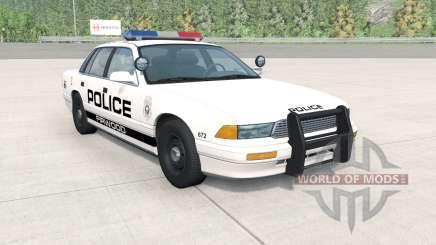 Gavril Grand Marshall Firwood Police v1.1 for BeamNG Drive