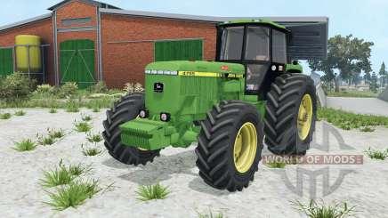 John Deere 4755 wheel options for Farming Simulator 2015