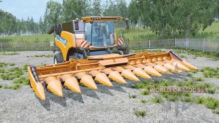 New Holland CR10.90 three cutteᶉs for Farming Simulator 2015