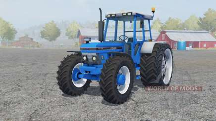 Ford 7810 added wheels for Farming Simulator 2013