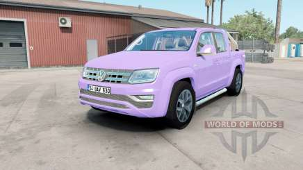 Volkswagen Amarok Double Cab Highline 2016 mauve for American Truck Simulator