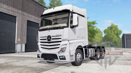 Mercedes-Benz Actros (MP4) wheel color selection for Farming Simulator 2017