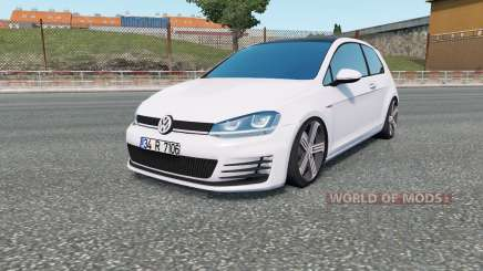 Volkswagen Golf R-Line (Typ 5G) 2013 for Euro Truck Simulator 2