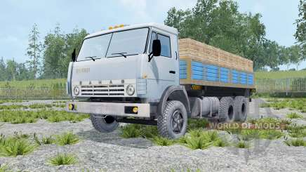 KamAZ 55102 with a trailer for Farming Simulator 2015