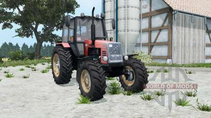 MTZ-1221 Belarus soft-red color for Farming Simulator 2015