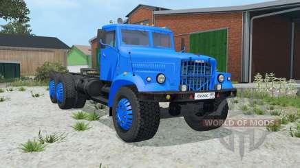KrAZ-258 blue color for Farming Simulator 2015