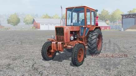 MTZ-80, Belarus soft-red color for Farming Simulator 2013