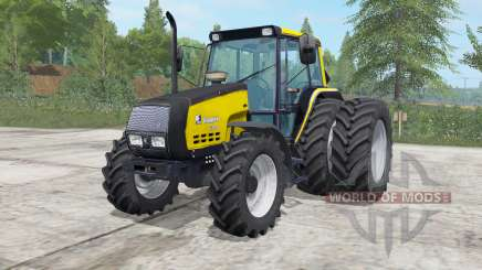 Valmet 6400 safety yellow for Farming Simulator 2017