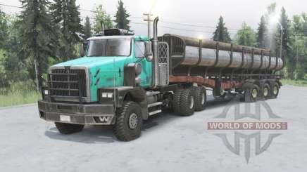 Western Star 6900XD v1.2 for Spin Tires