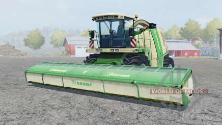 Krone BiG X 1100 pigment green for Farming Simulator 2013