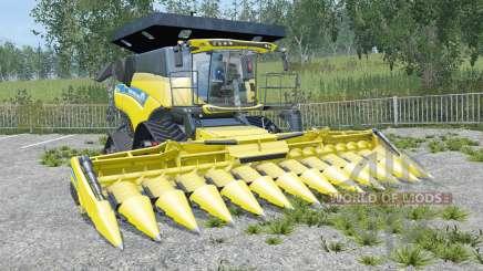 New Holland CR10.90 new exhaust sistem for Farming Simulator 2015