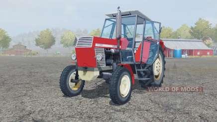 Ursus C-385 coral red for Farming Simulator 2013