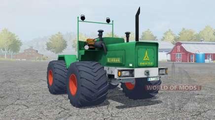 Deutz D 16006 Terra tires for Farming Simulator 2013