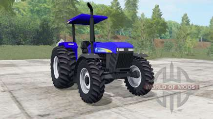 New Holland 7630 ultramarine for Farming Simulator 2017