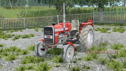 Massey Ferguson 255 without cab for Farming Simulator 2015