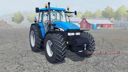 New Holland TM 190 deep sky blue for Farming Simulator 2013