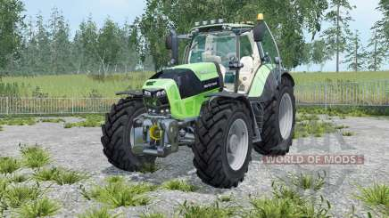 Deutz-Fahr 7210 TTV Agrotron street for Farming Simulator 2015