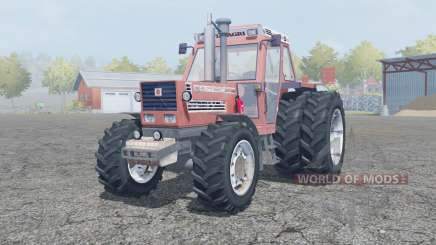 Fiat 180-90 Turbo DT dual rear wheels for Farming Simulator 2013