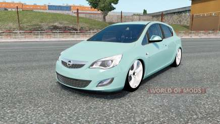 Opel Astra (J) for Euro Truck Simulator 2