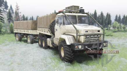 KrAZ-6322 v1.5 for Spin Tires