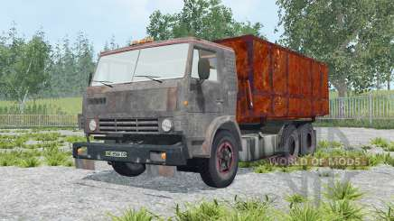 KamAZ-53212 with trailer for Farming Simulator 2015