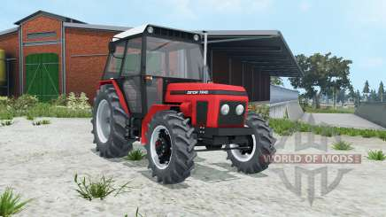Zetor 7245 animated pedals for Farming Simulator 2015