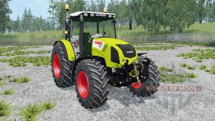 Claas Axos 330 peridot for Farming Simulator 2015
