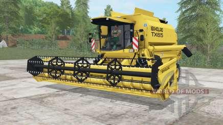 New Holland TX65 sandstorm for Farming Simulator 2017