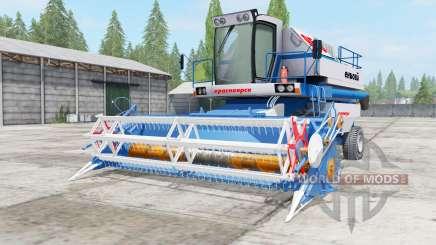 Yenisei-950 blue color for Farming Simulator 2017