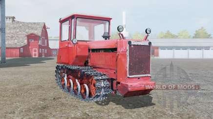 DT-75 soft red color for Farming Simulator 2013