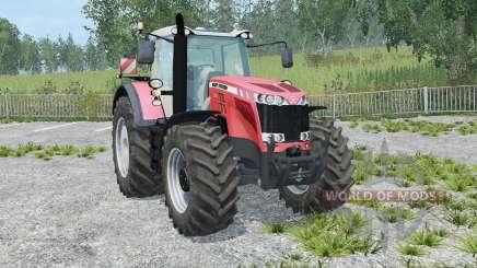 Massey Ferguson 8737 IC control for Farming Simulator 2015