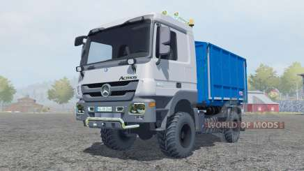 Mercedes-Benz Actros kipper (MP3) for Farming Simulator 2013