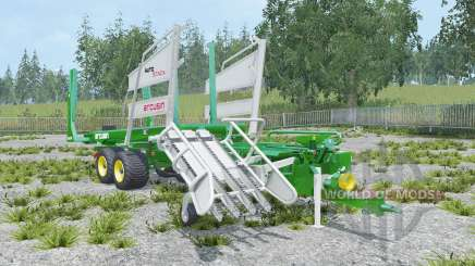 Arcusin AutoStack FS 63-72 painted rear wheels for Farming Simulator 2015