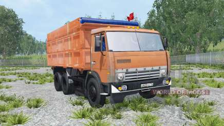 KamAZ-45143 and NefAZ-8560 for Farming Simulator 2015