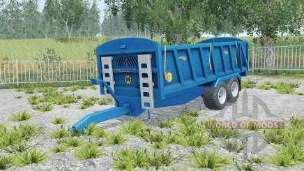 Marshall QM-16 correct sized wheels for Farming Simulator 2015