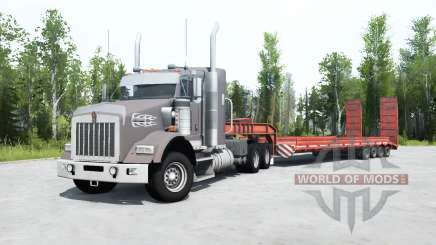 Kenworth T800 cinereous for MudRunner