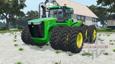 John Deere 9620R triples for Farming Simulator 2015